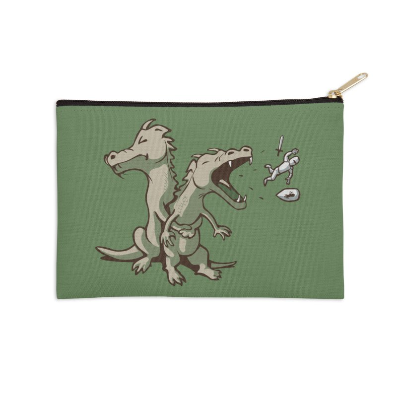 Unlikely Hero Accessories Zip Pouch by nathanwpyle's Artist Shop