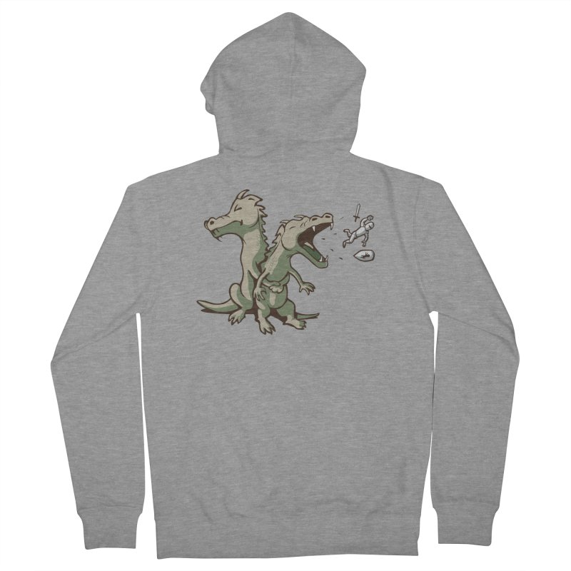 Unlikely Hero Men's Zip-Up Hoody by nathanwpyle's Artist Shop