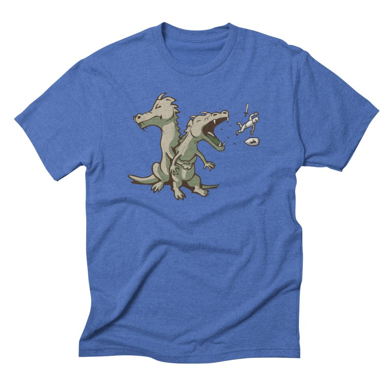 Unlikely Hero Men's Triblend T-Shirt by nathanwpyle's Artist Shop