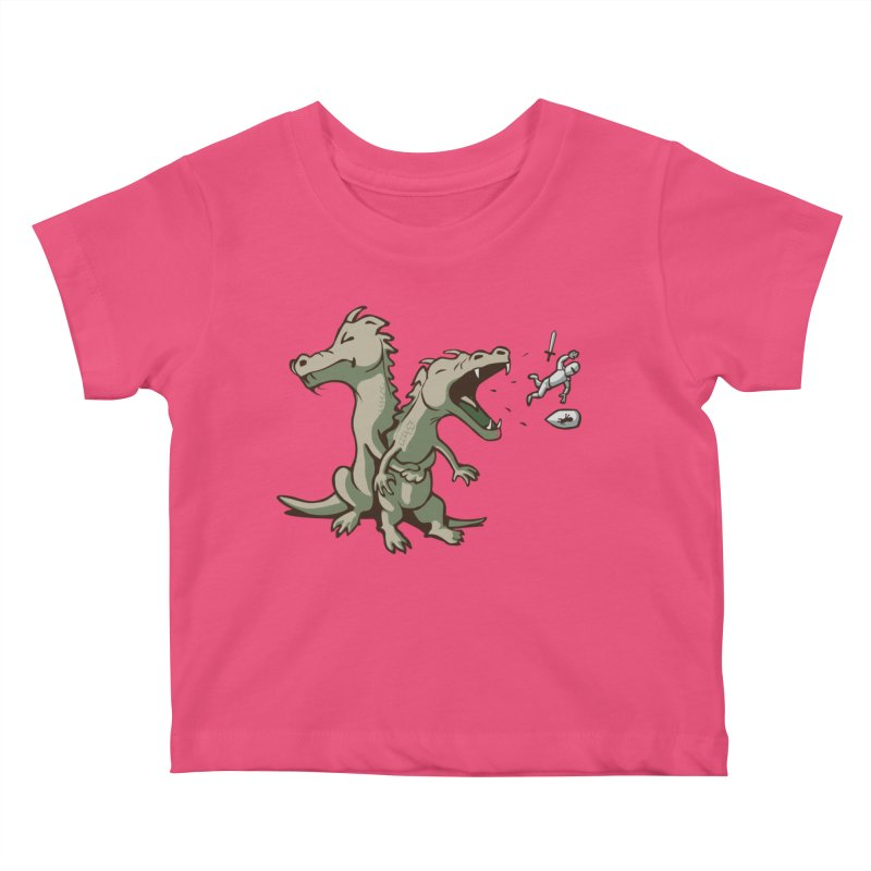 Unlikely Hero Kids Baby T-Shirt by nathanwpyle's Artist Shop