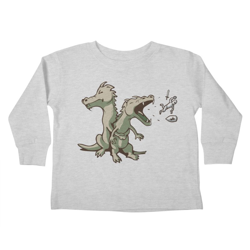 Unlikely Hero Kids Toddler Longsleeve T-Shirt by nathanwpyle's Artist Shop