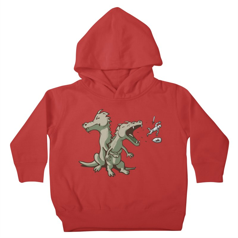 Unlikely Hero Kids Toddler Pullover Hoody by nathanwpyle's Artist Shop