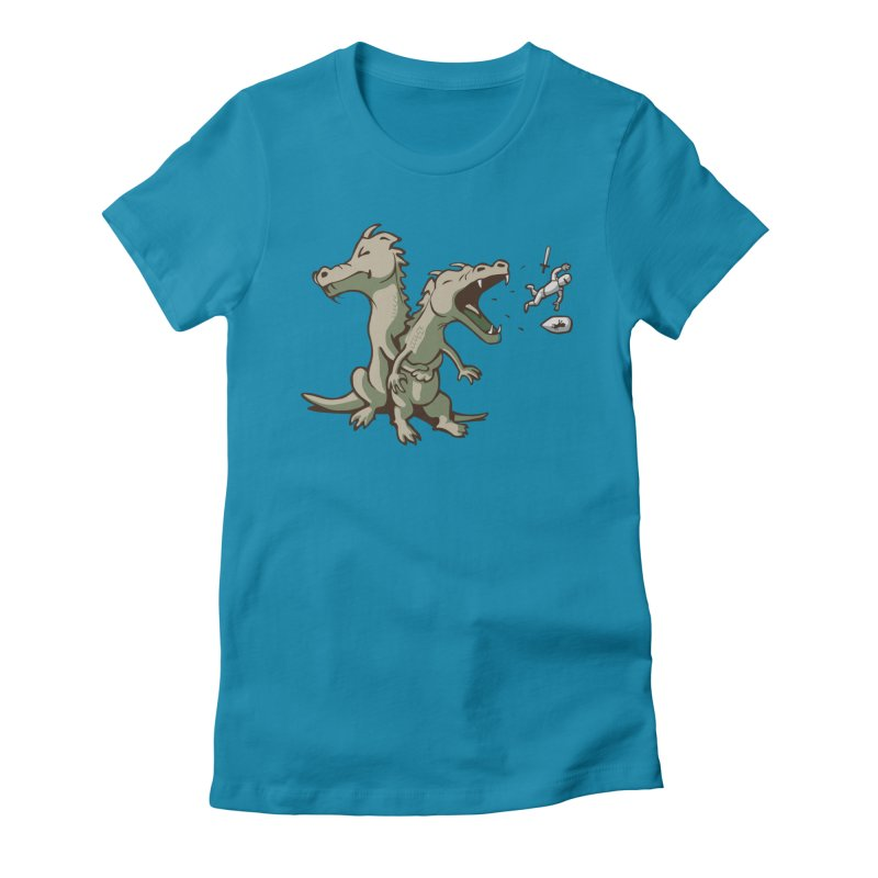 Unlikely Hero Women's Fitted T-Shirt by nathanwpyle's Artist Shop