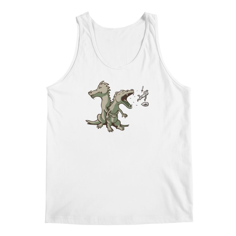 Unlikely Hero Men's Tank by nathanwpyle's Artist Shop