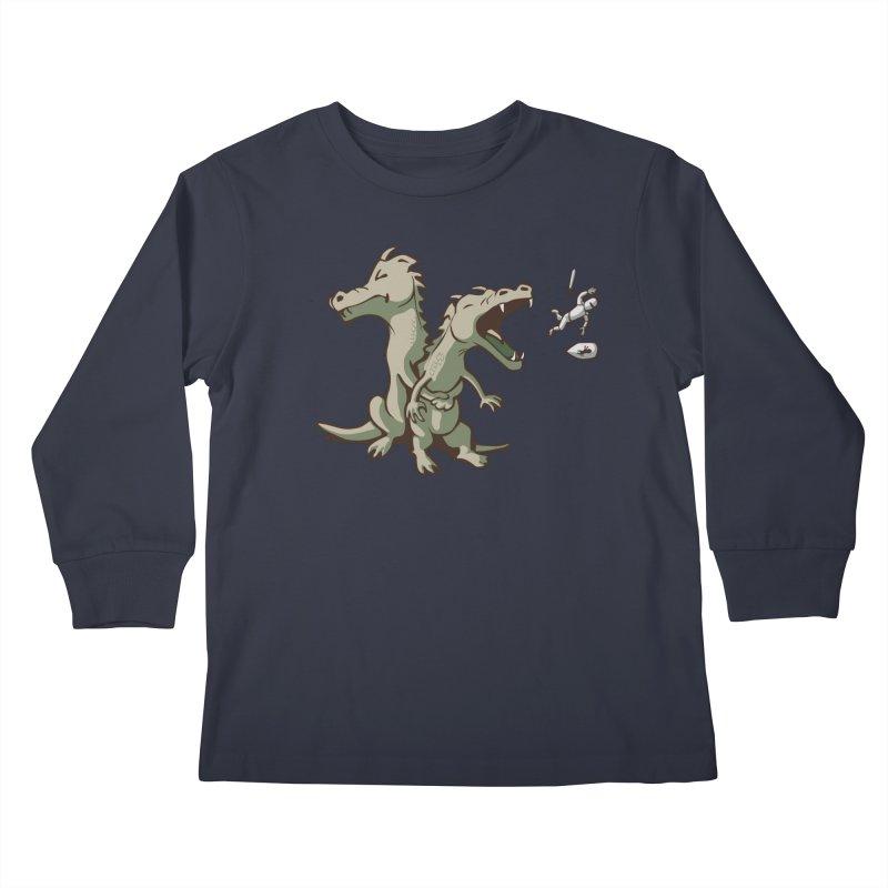 Unlikely Hero Kids Longsleeve T-Shirt by nathanwpyle's Artist Shop