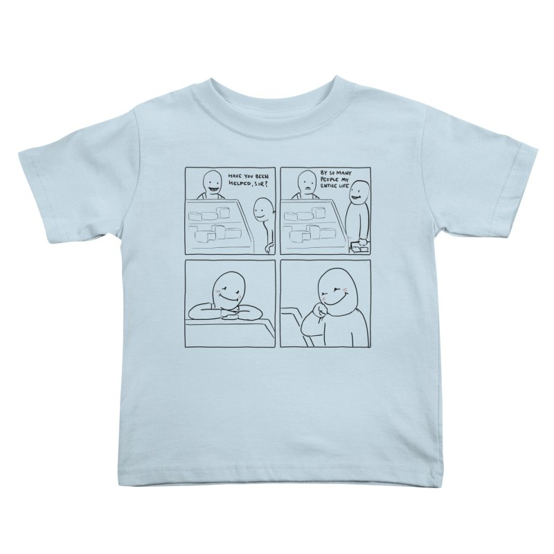 Help Kids Toddler T-Shirt by nathanwpyle's Artist Shop