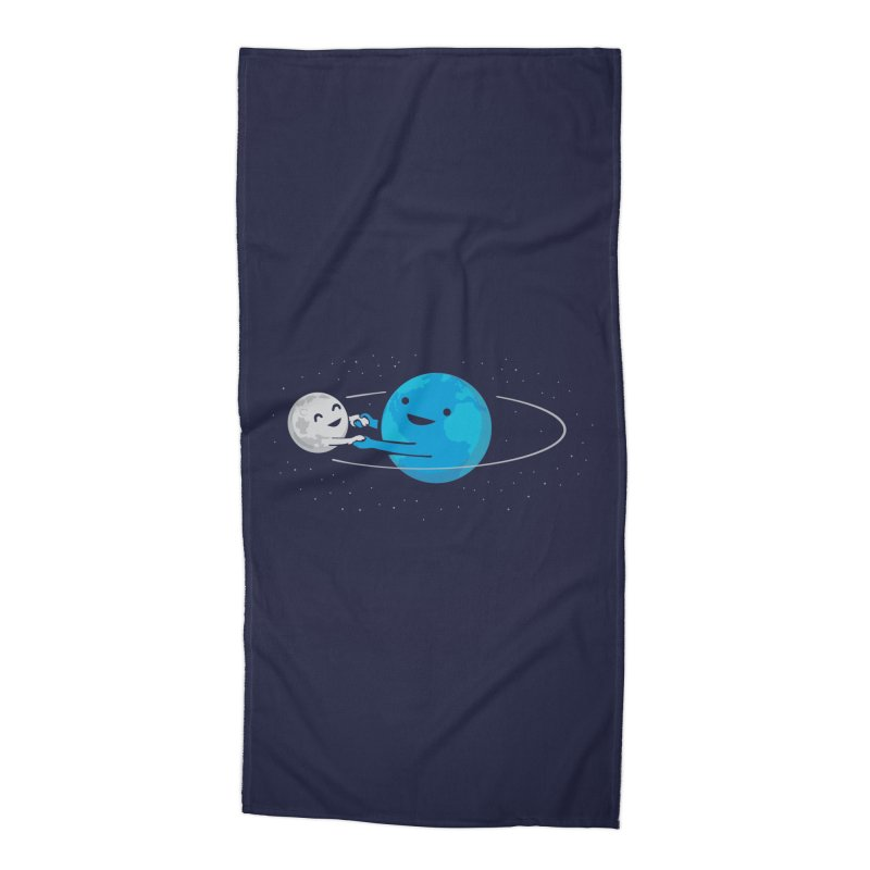 I Love Being Around You (now on BLACK too!) Accessories Beach Towel by nathanwpyle's Artist Shop