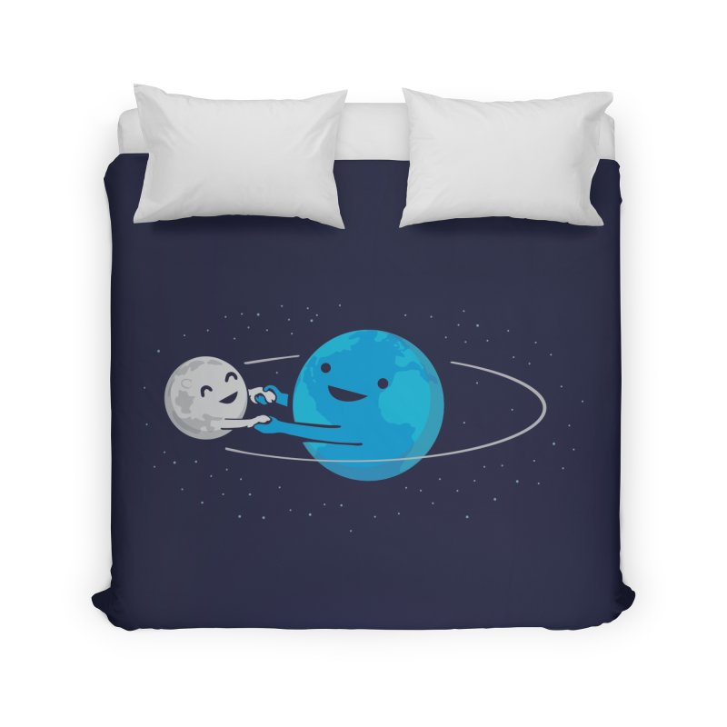 I Love Being Around You (now on BLACK too!) Home Duvet by nathanwpyle's Artist Shop