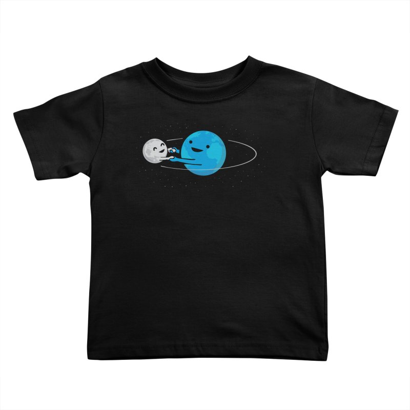 I Love Being Around You (now on BLACK too!) Kids Toddler T-Shirt by Nathan W Pyle