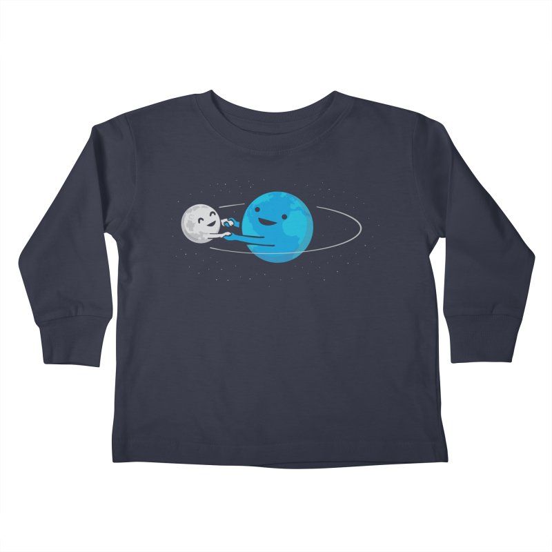 I Love Being Around You (now on BLACK too!) Kids Toddler Longsleeve T-Shirt by nathanwpyle's Artist Shop