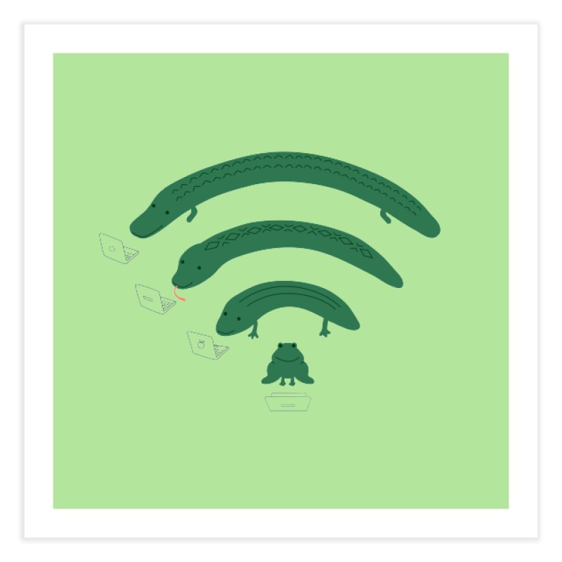 Everybody Loves The Internet Home Fine Art Print by nathanwpyle's Artist Shop