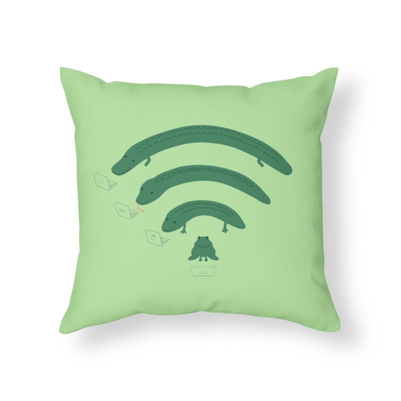 Everybody Loves The Internet Home Throw Pillow by nathanwpyle's Artist Shop