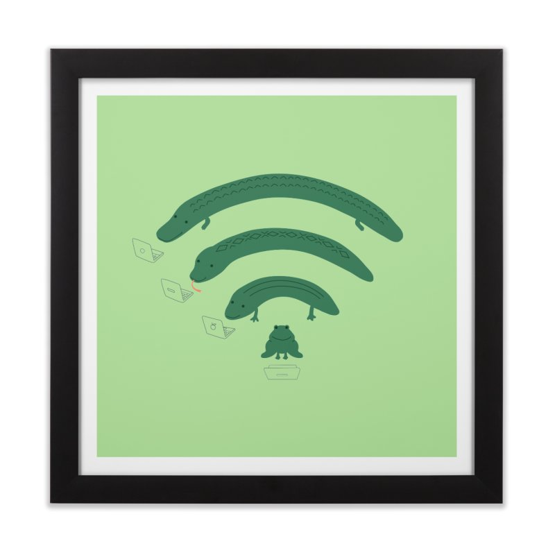 Everybody Loves The Internet Home Framed Fine Art Print by nathanwpyle's Artist Shop