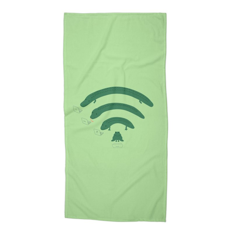 Everybody Loves The Internet Accessories Beach Towel by nathanwpyle's Artist Shop
