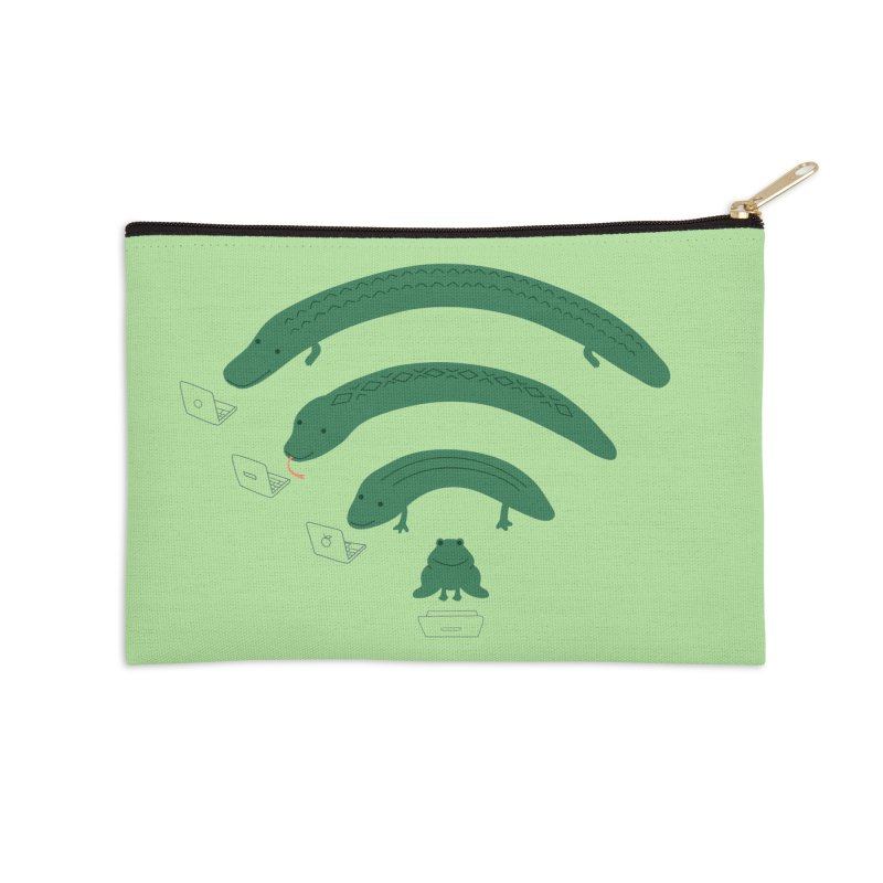 Everybody Loves The Internet Accessories Zip Pouch by nathanwpyle's Artist Shop