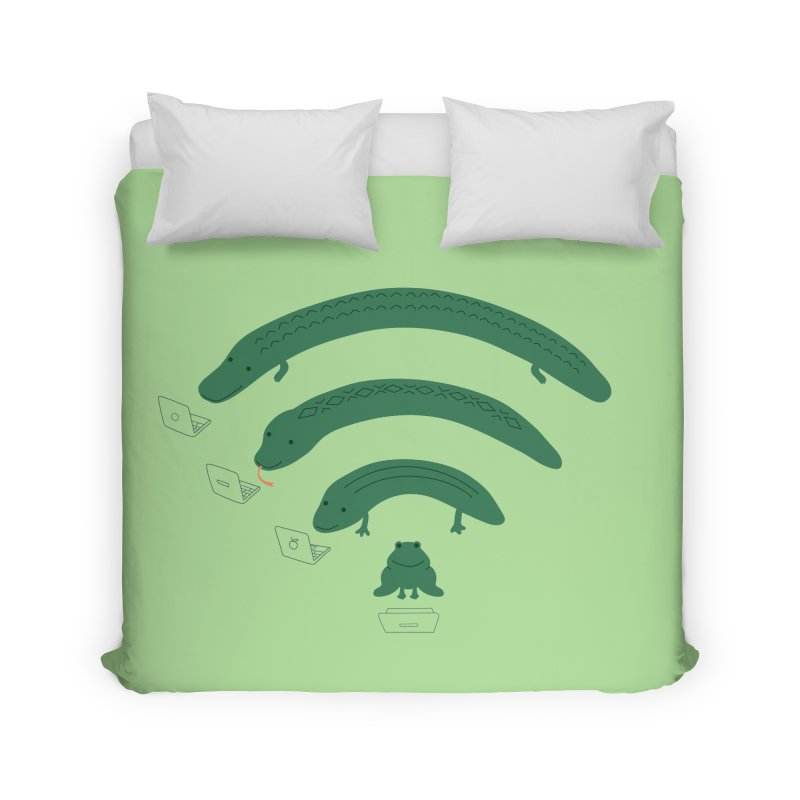 Everybody Loves The Internet Home Duvet by nathanwpyle's Artist Shop