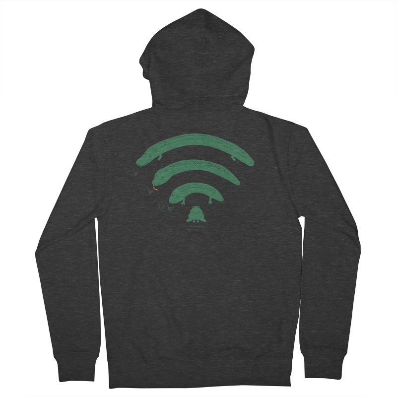 Everybody Loves The Internet Men's Zip-Up Hoody by nathanwpyle's Artist Shop