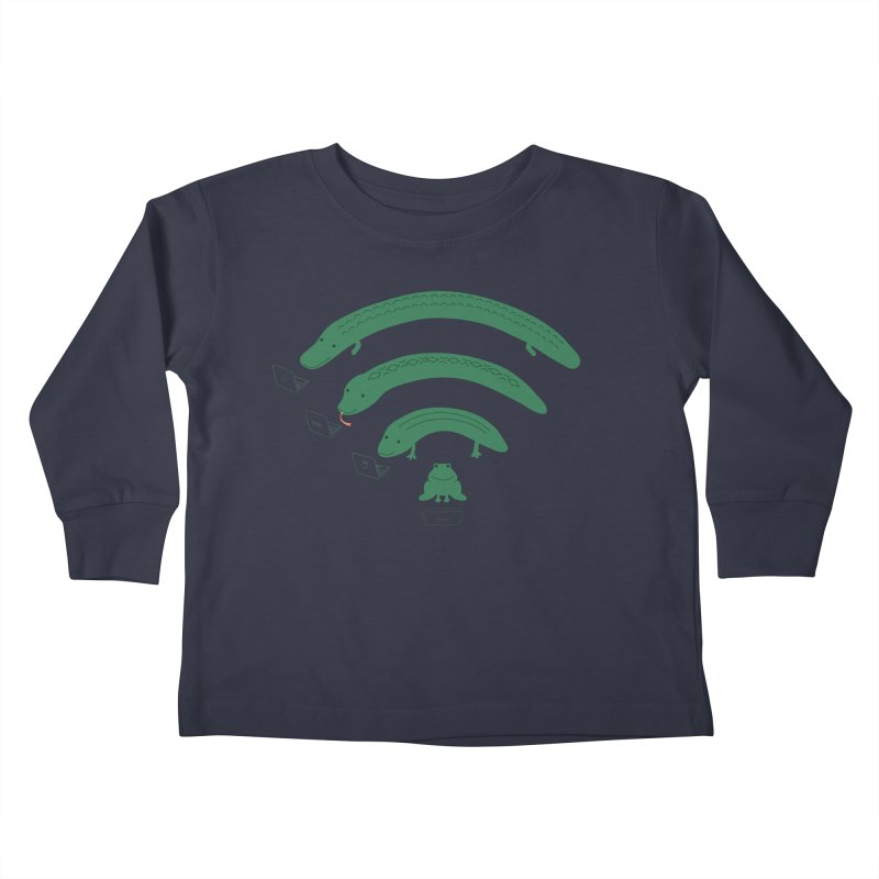 Everybody Loves The Internet Kids Toddler Longsleeve T-Shirt by nathanwpyle's Artist Shop