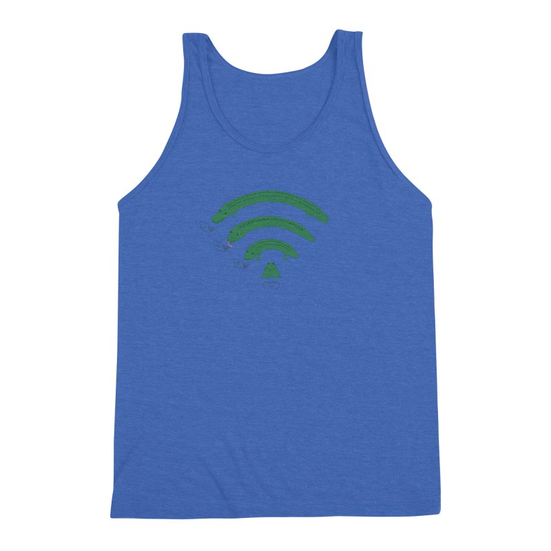 Everybody Loves The Internet Men's Triblend Tank by nathanwpyle's Artist Shop