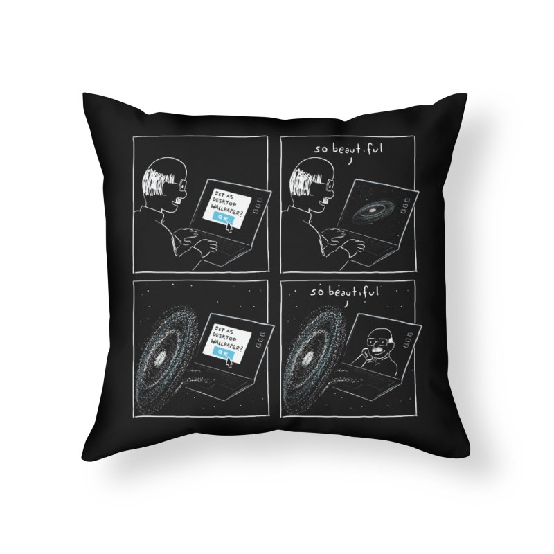 Mutual Admiration Home Throw Pillow by nathanwpyle's Artist Shop