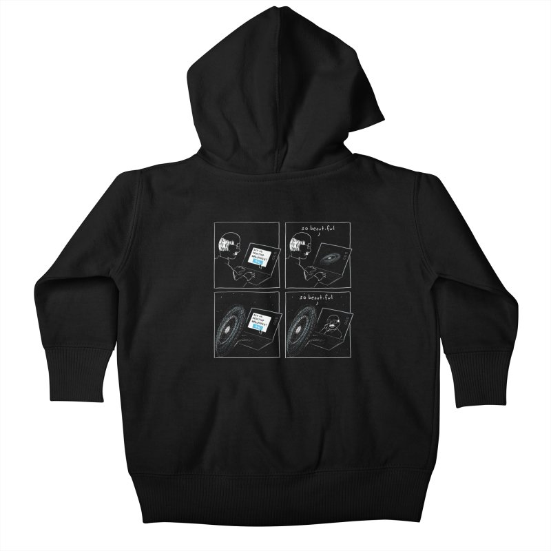 Mutual Admiration Kids Baby Zip-Up Hoody by nathanwpyle's Artist Shop