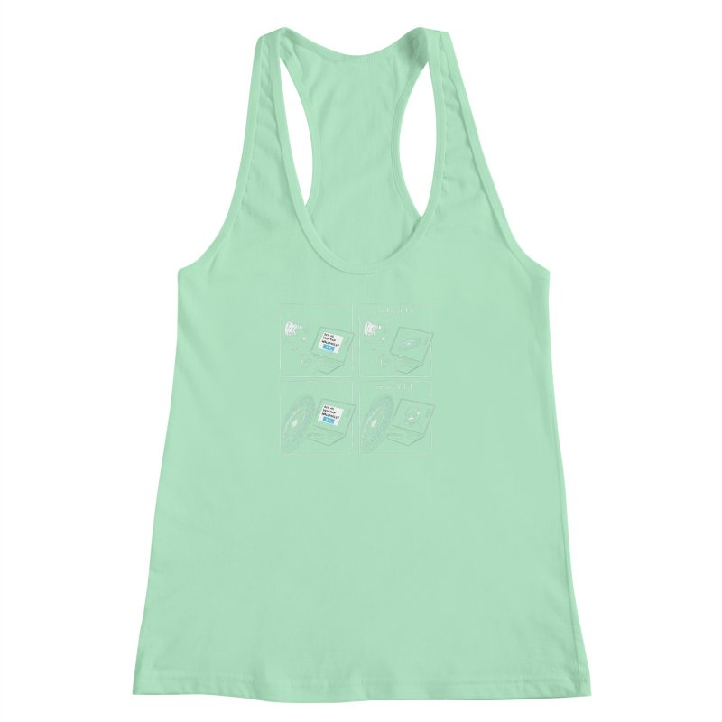 Mutual Admiration Women's Racerback Tank by nathanwpyle's Artist Shop