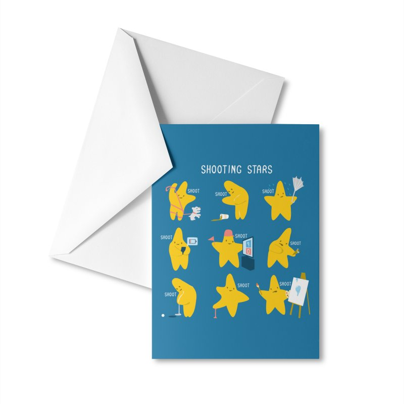 Shooting Stars! Accessories Greeting Card by Nathan W Pyle