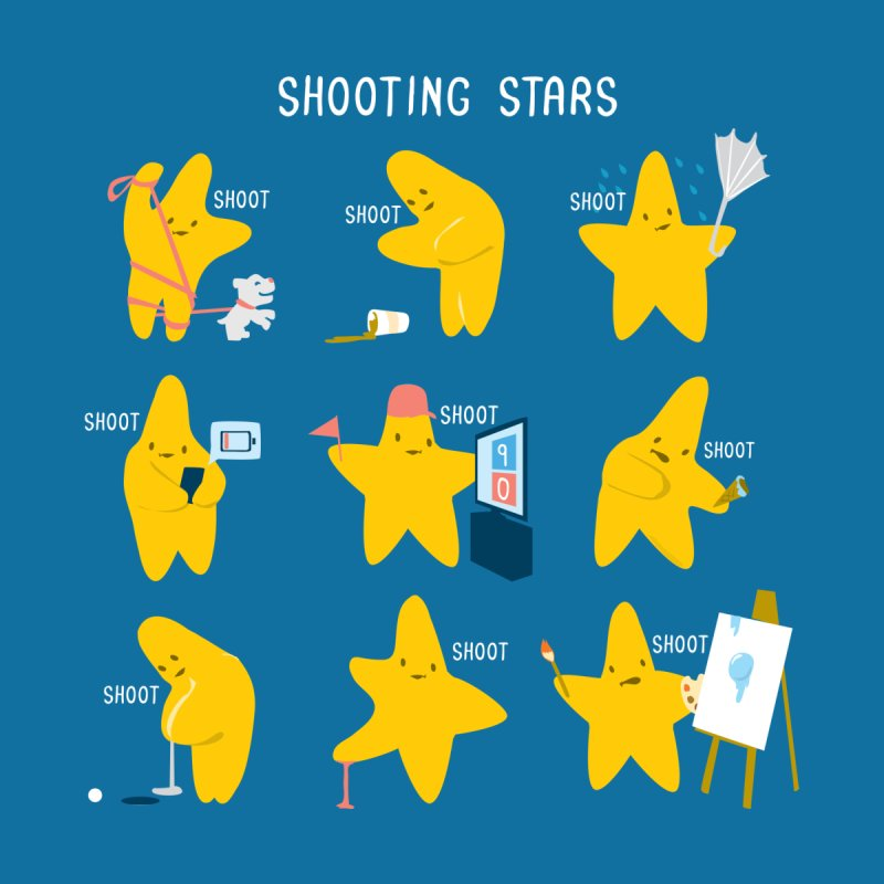 Shooting Stars! Accessories Sticker by Nathan W Pyle