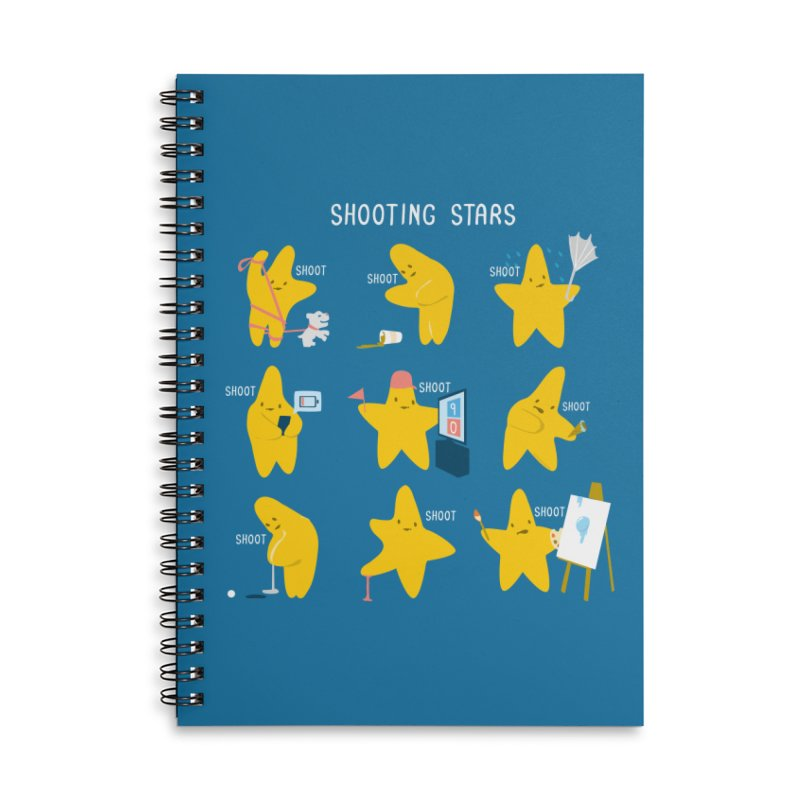 Shooting Stars! Accessories Notebook by Nathan W Pyle Shop   Strange Planet Store   Thread