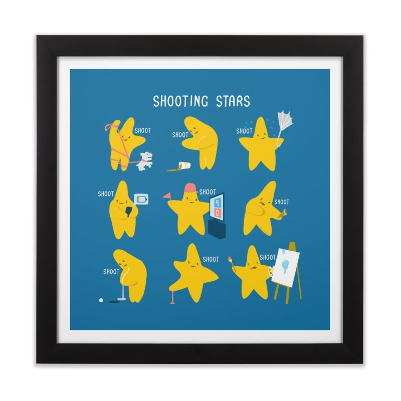 Shooting Stars! Home Framed Fine Art Print by nathanwpyle's Artist Shop