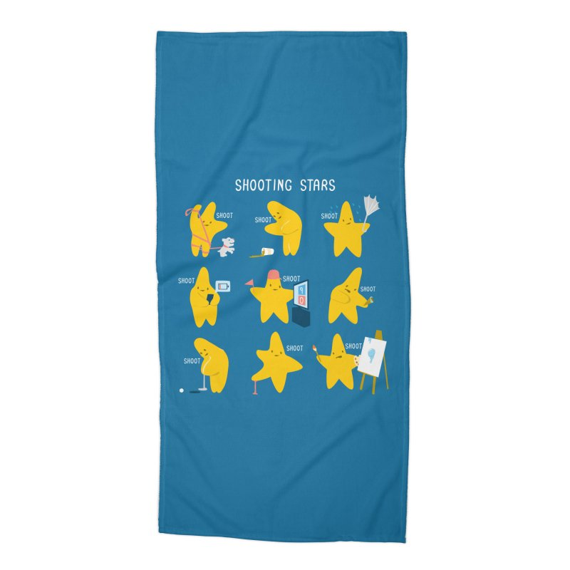 Shooting Stars! Accessories Beach Towel by nathanwpyle's Artist Shop