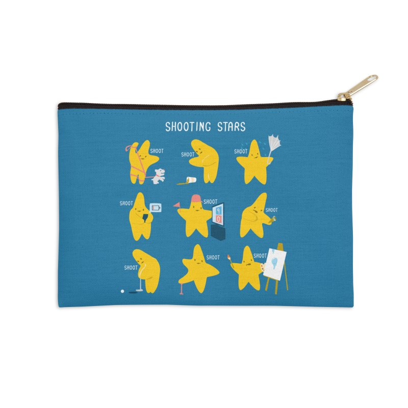 Shooting Stars! Accessories Zip Pouch by Nathan W Pyle