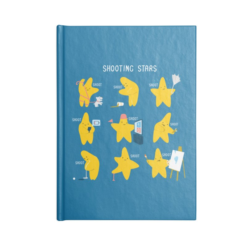 Shooting Stars! Accessories Notebook by Nathan W Pyle
