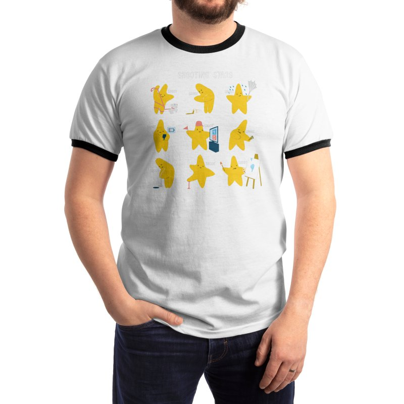 Shooting Stars! Men's T-Shirt by Nathan W Pyle