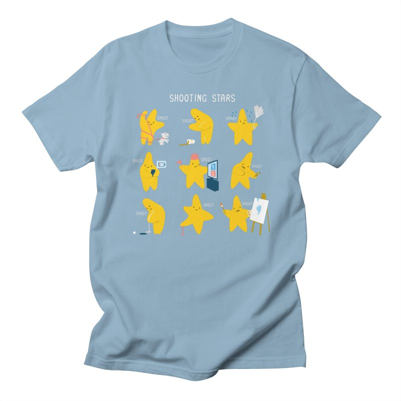 Shooting Stars! Men's T-Shirt by nathanwpyle's Artist Shop