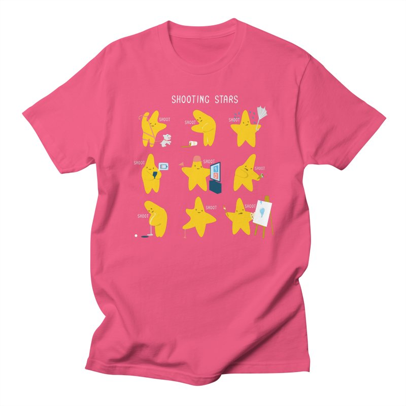 Shooting Stars! Women's Unisex T-Shirt by nathanwpyle's Artist Shop