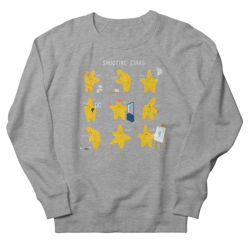 Shooting Stars! Women's Sweatshirt by nathanwpyle's Artist Shop