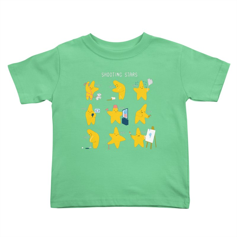 Shooting Stars! Kids Toddler T-Shirt by nathanwpyle's Artist Shop