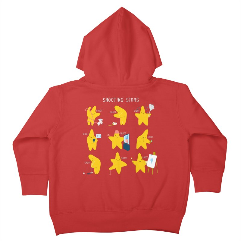 Shooting Stars! Kids Toddler Zip-Up Hoody by Nathan W Pyle Shop | Strange Planet Store | Thread