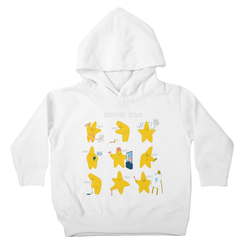 Shooting Stars! Kids Toddler Pullover Hoody by nathanwpyle's Artist Shop
