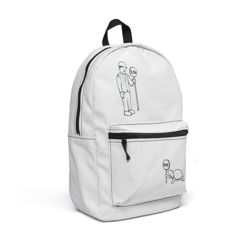 Rude! Accessories Backpack Bag by Nathan W Pyle