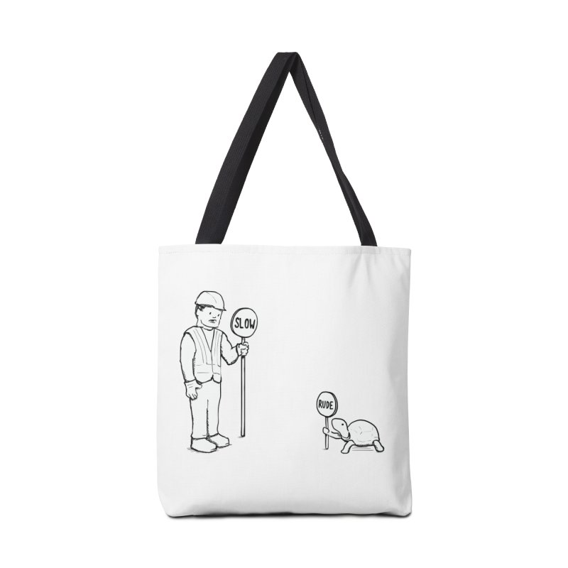 Rude! Accessories Bag by nathanwpyle's Artist Shop