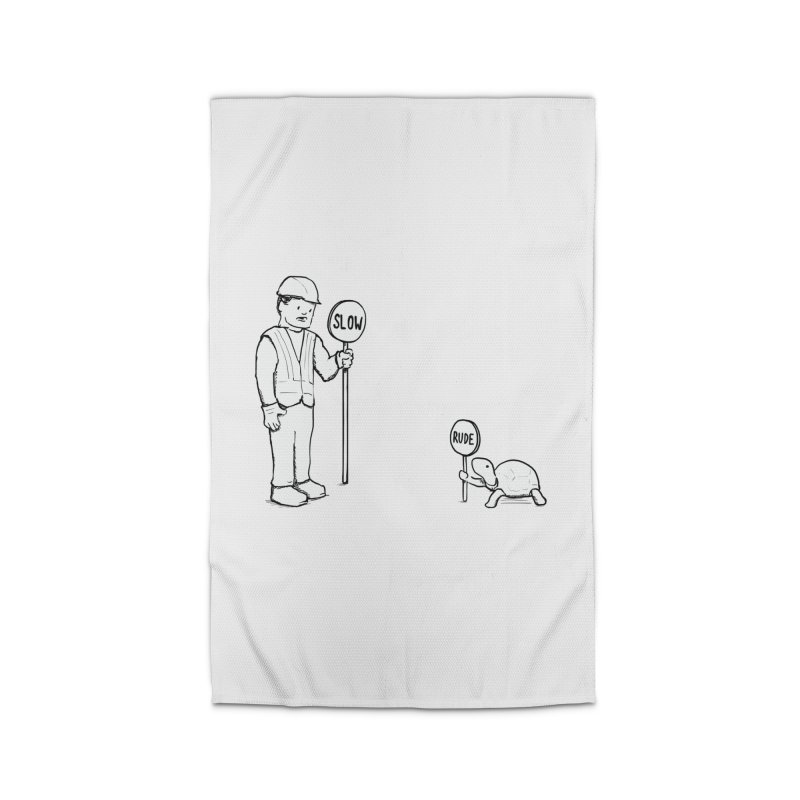 Rude! Home Rug by nathanwpyle's Artist Shop