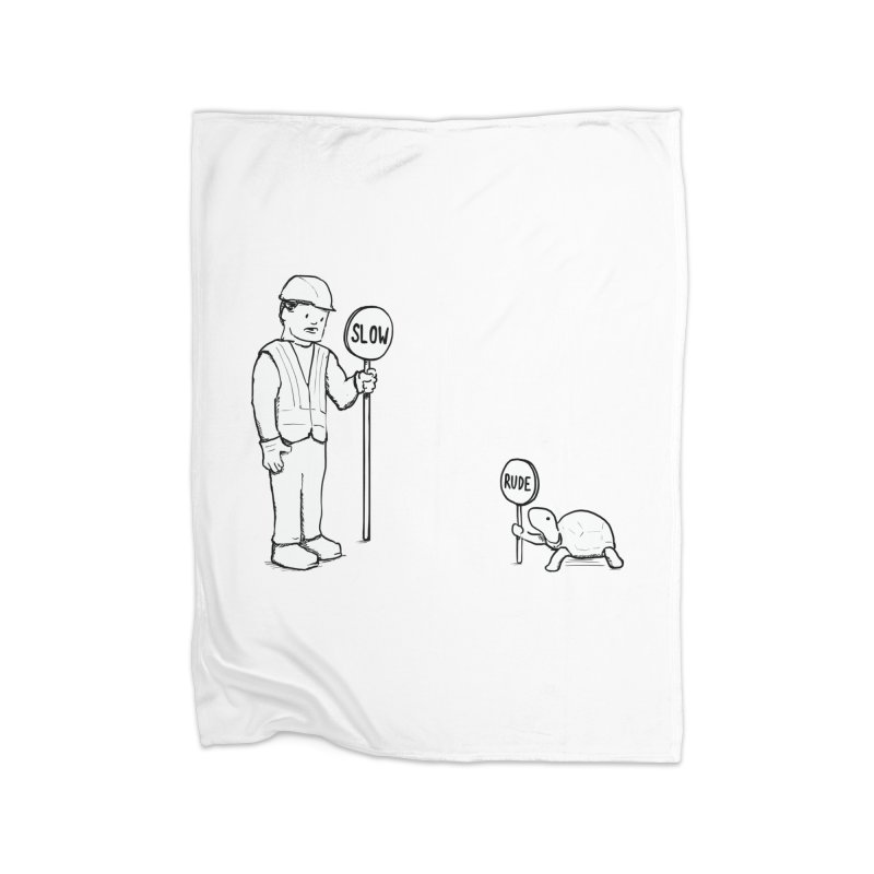 Rude! Home Blanket by nathanwpyle's Artist Shop