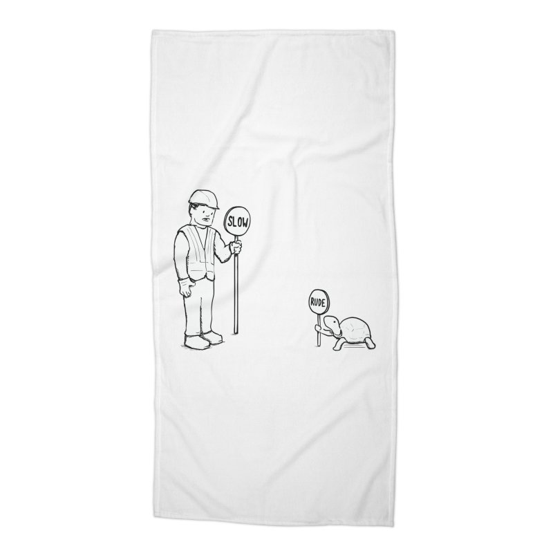 Rude! Accessories Beach Towel by nathanwpyle's Artist Shop