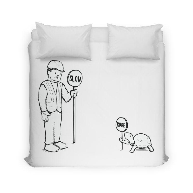 Rude! Home Duvet by nathanwpyle's Artist Shop