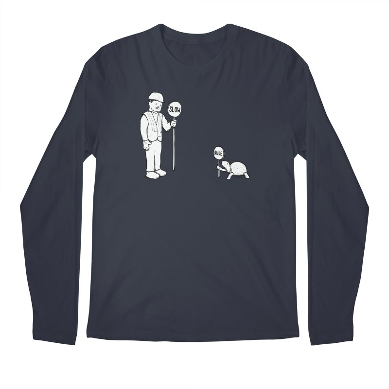 Rude! Men's Longsleeve T-Shirt by nathanwpyle's Artist Shop