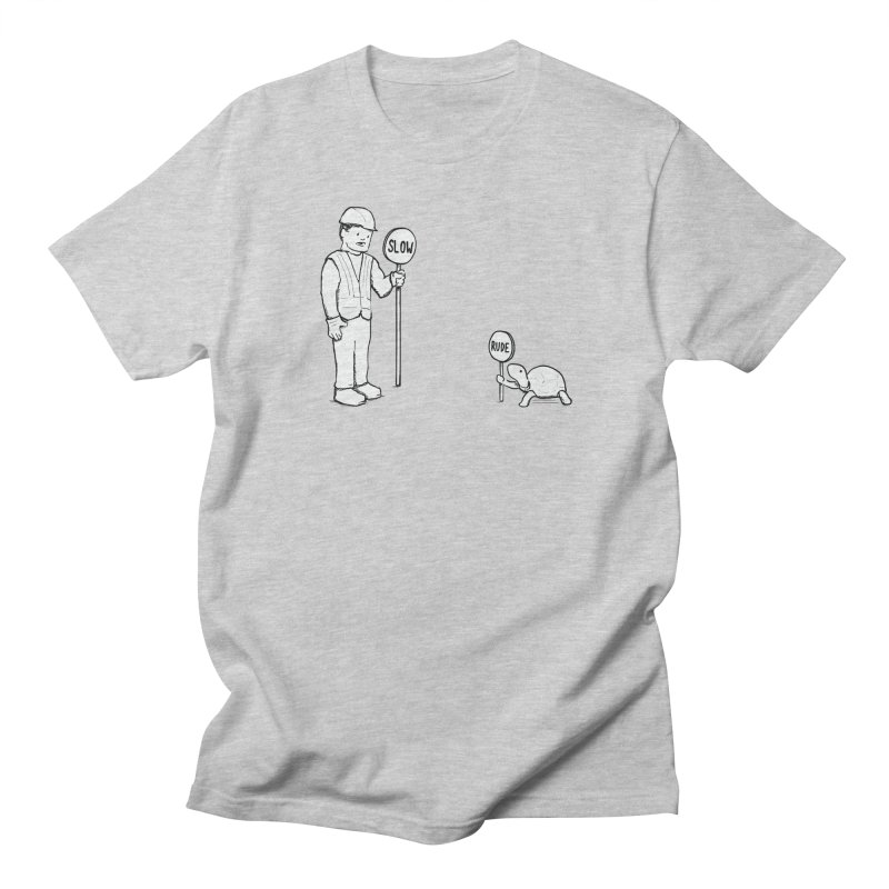 Rude! Men's T-Shirt by Nathan W Pyle