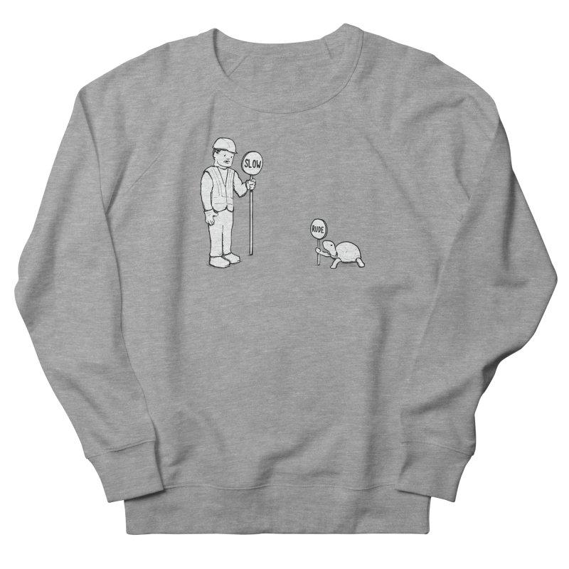Rude! Men's Sweatshirt by nathanwpyle's Artist Shop