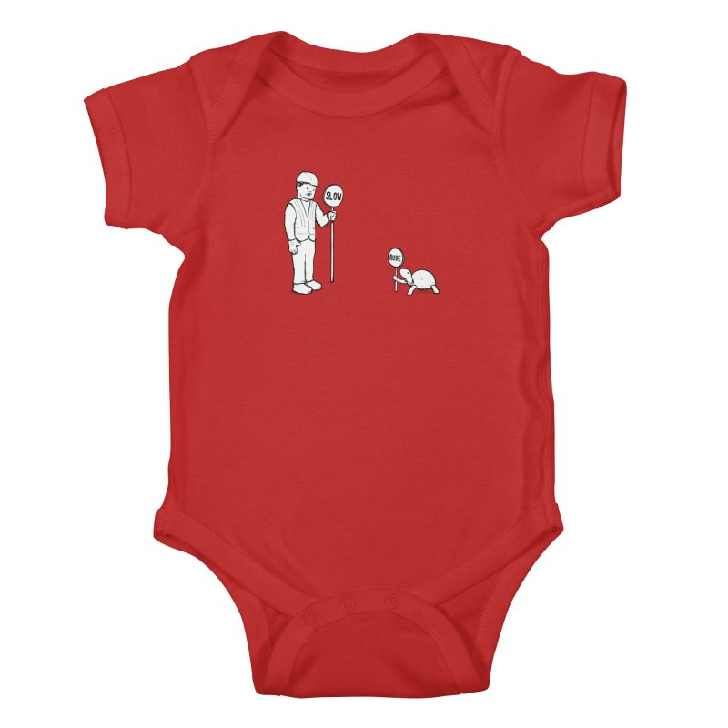 Rude! Kids Baby Bodysuit by Nathan W Pyle Shop | Strange Planet Store | Thread